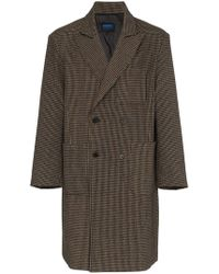 Charm's - Double Breasted Wool Blazer - Lyst