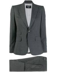 DSquared² Slim-fit Two Piece Suit - Gray
