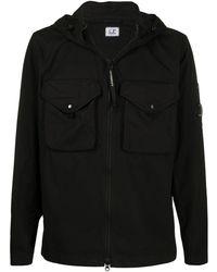 C P Company ボンバージャケット - ブラック