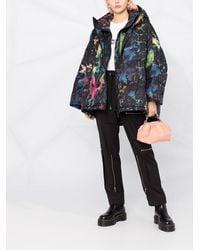 DIESEL オーバーサイズ キルティングコート - ブラック