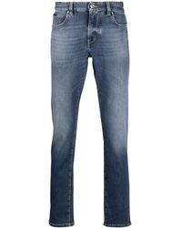 Z Zegna Jean bootcut à poches multiples - Bleu