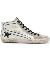 Golden Goose Deluxe Brand - 'Slide' High-Top-Sneakers - Lyst