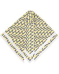 KENZO ロゴ シルクスカーフ - イエロー
