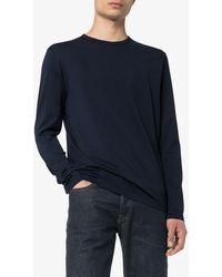 Sunspel ロングtシャツ - ブルー