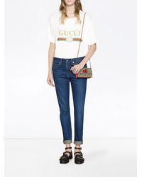 Gucci - GGスプリーム ショルダーバッグ - Lyst