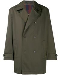 Y. Project Double-breasted Trench Coat - Green