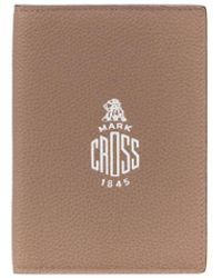 Mark Cross Passport Holder - Brown