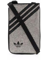adidas ビジュートリム クラッチバッグ - ブラック
