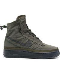 Nike Кроссовки Air Force 1 Shell - Зеленый