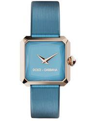 Dolce & Gabbana Sofia スクエア腕時計 11mm - ブルー