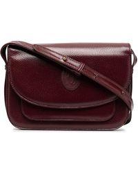 Cartier Сумка На Плечо Pre-owned С Нашивкой-логотипом - Красный