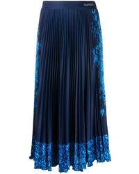 Valentino 'Bluegrace Bouquet' Rock - Blau