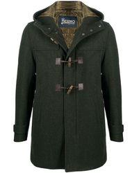 Herno Duffle-coat à capuche - Vert