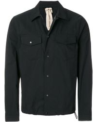 C P Company - Pin Fastened Shirt - Lyst