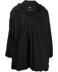 Reebok Embroidered Logo Raincoat - Black