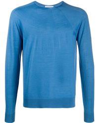 Christian Wijnants Lightweight Knit Jumper - Blue