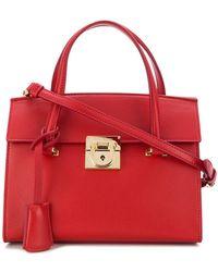 Ferragamo - Mara Top Handle Bag - Lyst