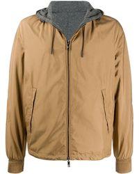 Ermenegildo Zegna Interior Lined Hooded Jacket - Brown