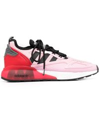 adidas Кроссовки Zx 2k Boost Из Коллаборации С Ninja - Розовый