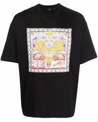 Daily Paper Levin Tシャツ - ブラック