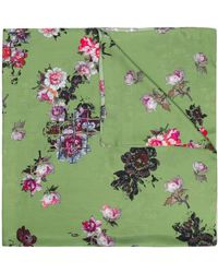 Preen By Thornton Bregazzi Exclusive Printed Scarf - Green