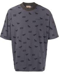 Maison Kitsuné ロゴ Tシャツ - グレー