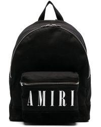 Amiri ロゴプリント トップ - ブラック