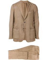 Dell'Oglio Two-piece Dinner Suit - Natural