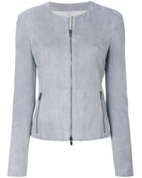 DROMe - Zipped Fitted Jacket - Lyst