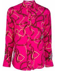 Lauren by Ralph Lauren Jamelko ロングスリーブシャツ - ピンク