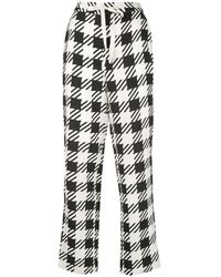 Onia Loose Fit Tapered Pants - Black