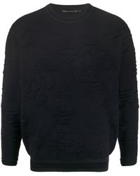 Issey Miyake ファインニット セーター - ブルー