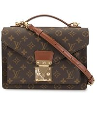 Louis Vuitton Monceau 26 Tas Met Monogram - Meerkleurig