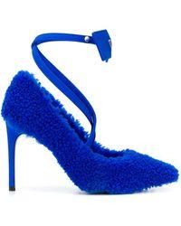 Off-White c/o Virgil Abloh Zapatos de tacón con brida - Azul