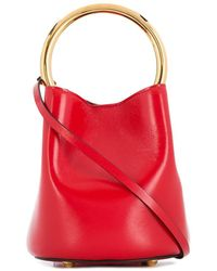 Marni Panier Bucket Bag - Red