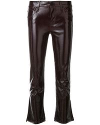 RTA - Cropped Slim Trousers - Lyst