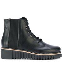 Loriblu - Lace-up Platform Boots - Lyst