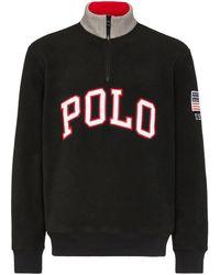 Polo Ralph Lauren ロゴ スウェットシャツ - ブラック