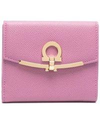 Ferragamo ガンチーニ 財布 - ピンク