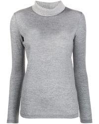 Fabiana Filippi - Turtleneck Knit Sweater - Lyst