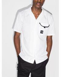 The North Face Рубашка С Короткими Рукавами И Логотипом - Белый