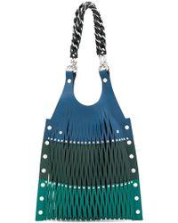 Sonia Rykiel   Laser Cut Shoulder Bag   Lyst
