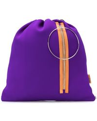 MM6 by Maison Martin Margiela - Drawstring Backpack - Lyst
