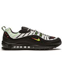 """Nike Air Max 98 """"highlighter"""" スニーカー - ブラック"""