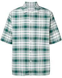 AMI Camp Collar Shirt - Green