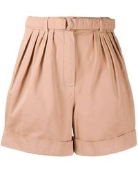 Acne Studios High-waisted Shorts - Pink