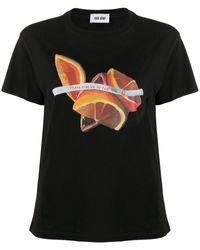 Each x Other Amanda Wall Fortune Tシャツ - ブラック