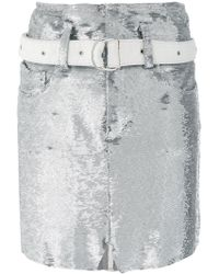 IRO - Short Sequined Skirt - Lyst