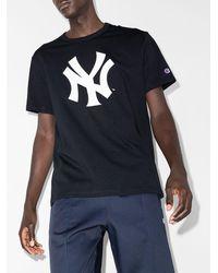 Champion New York Yankees Tシャツ - ブルー