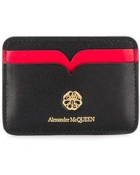 Alexander McQueen カードケース - レッド